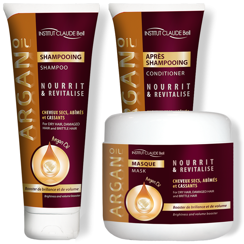 SET COMPLET ARGAN OIL
