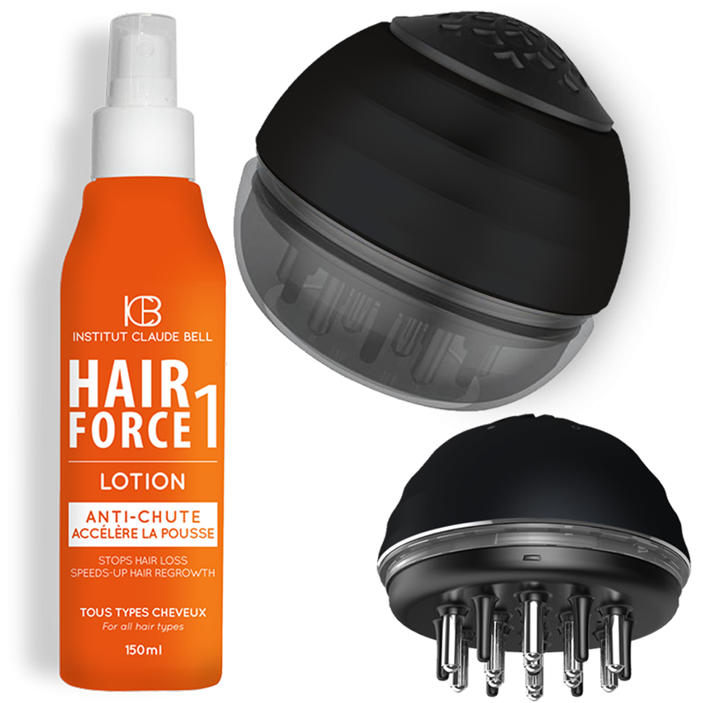 BROSSE APPLICATEUR SERUM & HAIR FORCE 1 LOTION